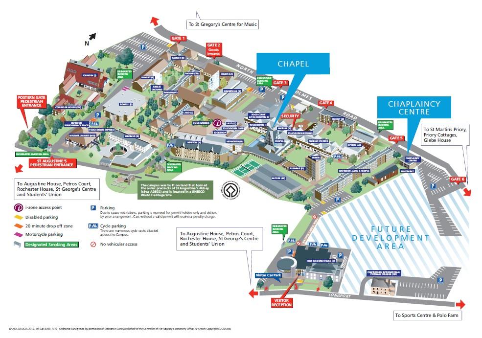 freshers map