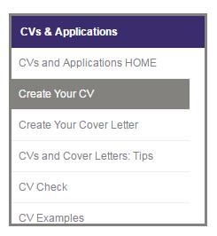 your cv builder