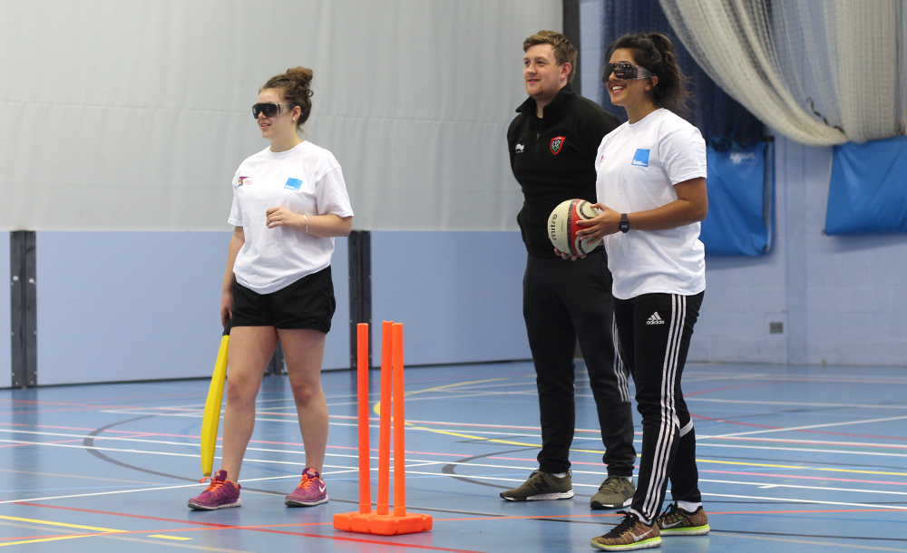 Disability training in sport - cricket