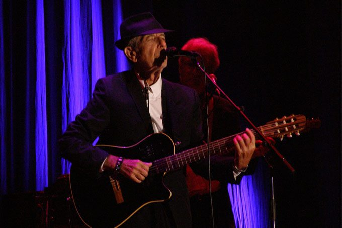 Leonard Cohen's Jewish farewell