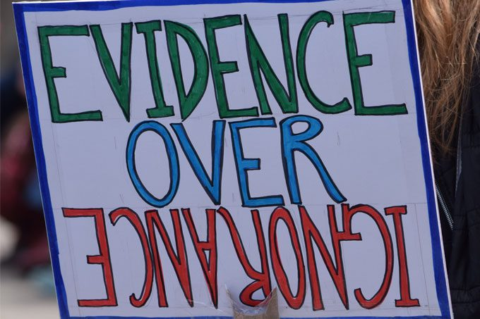 Supporting science in a post-truth era