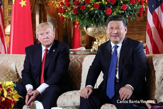 Rise and fall – China and the US