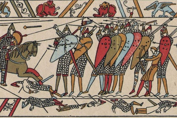 Bayeux Tapestry, Kent and a diplomatic gift