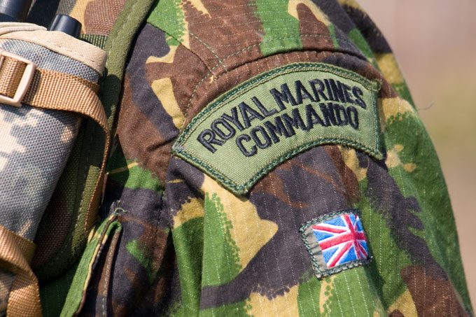 Does history show the future for the Royal Marines?