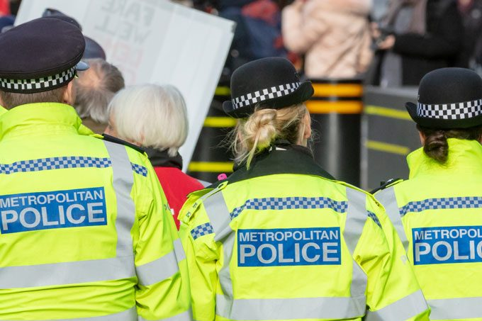 Policing and mixed messages in the media