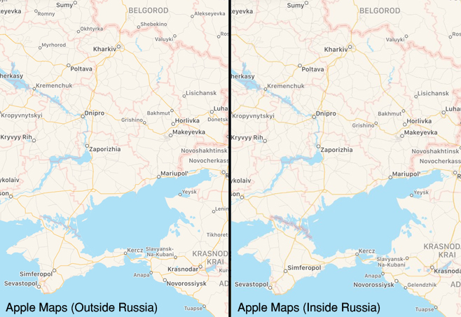 Apple, Maps and the Localisation of Fact