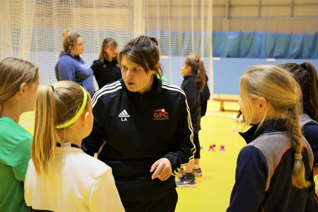 Canterbury Christ Church University student coaching sports