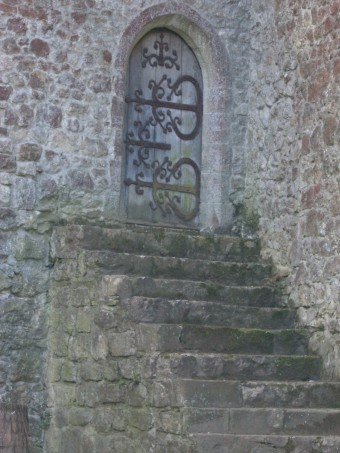 Saltwood Castle door - more beautiful ironwork