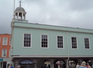 Faversham's market place and centre of civic government