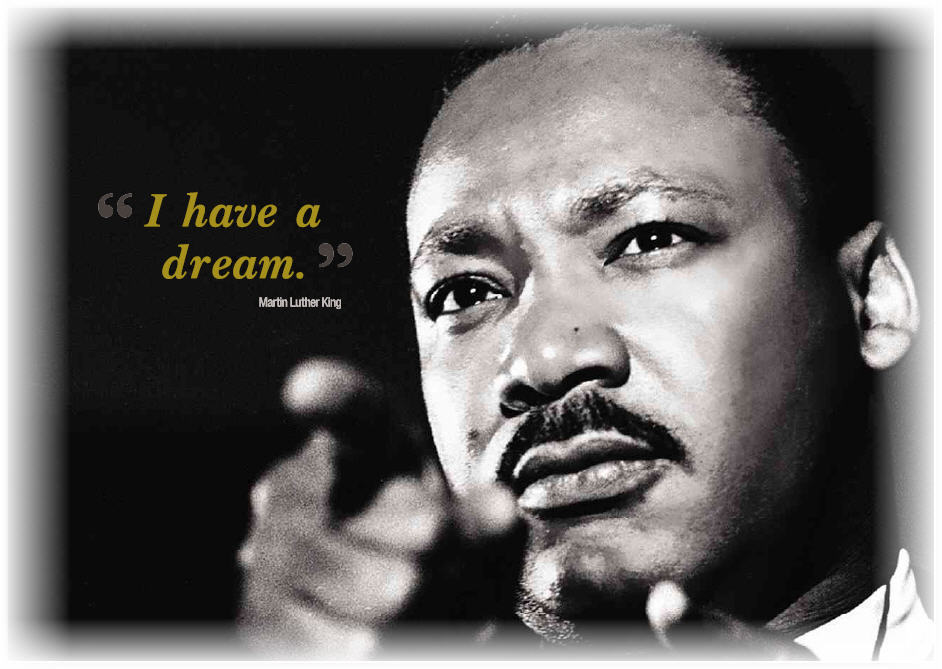 Every third Monday in January is Martin Luther King Jr. Day, a day to celebrate the compassionate acts of Dr. King in his pursuit of civil rights. By the age of 39, Dr. King left a huge impact in the civil rights movement. (Courtesy photo)