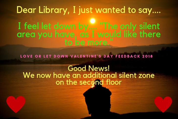 Feedback on silent study