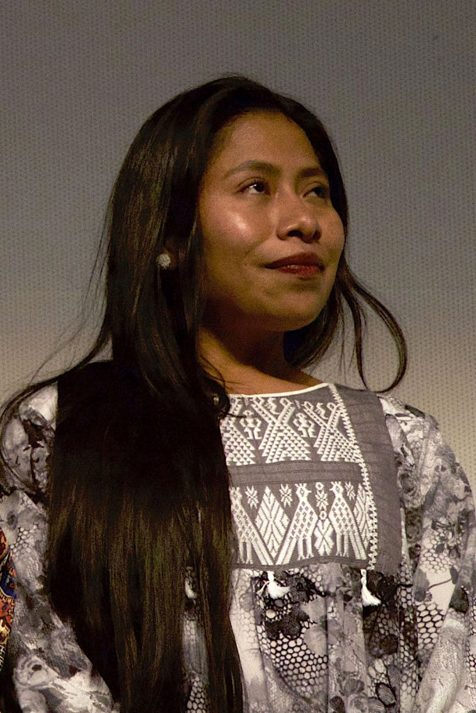 A photo of Yalitza Aparicio by Milton Martínez
