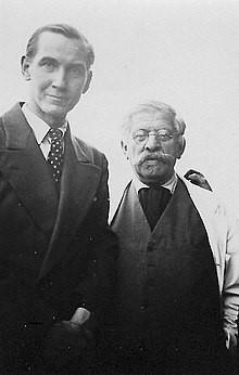 Karl Giese with Magnus Hirschfeld