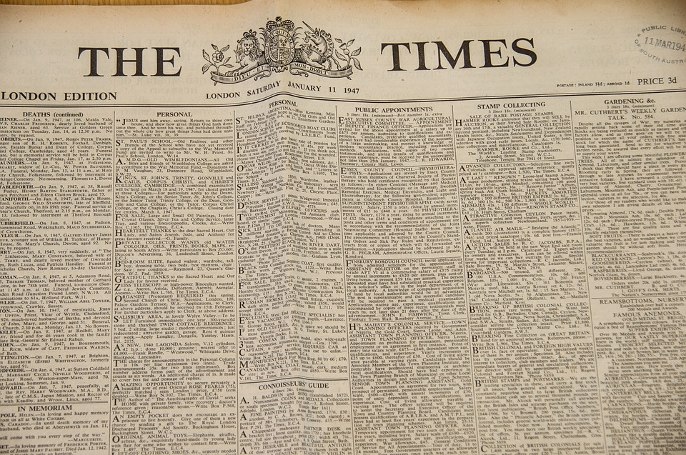 The Times from 1947