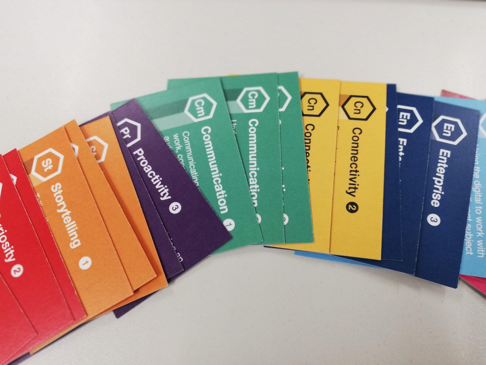 Image of cards designed for DCAF workshop activities
