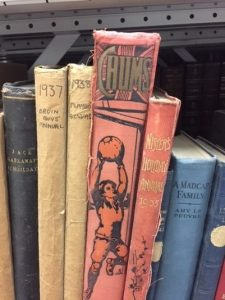 Image shows annuals from the 1930s