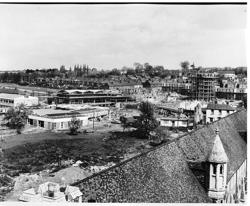 Image shows North Holmes campus site, 1963