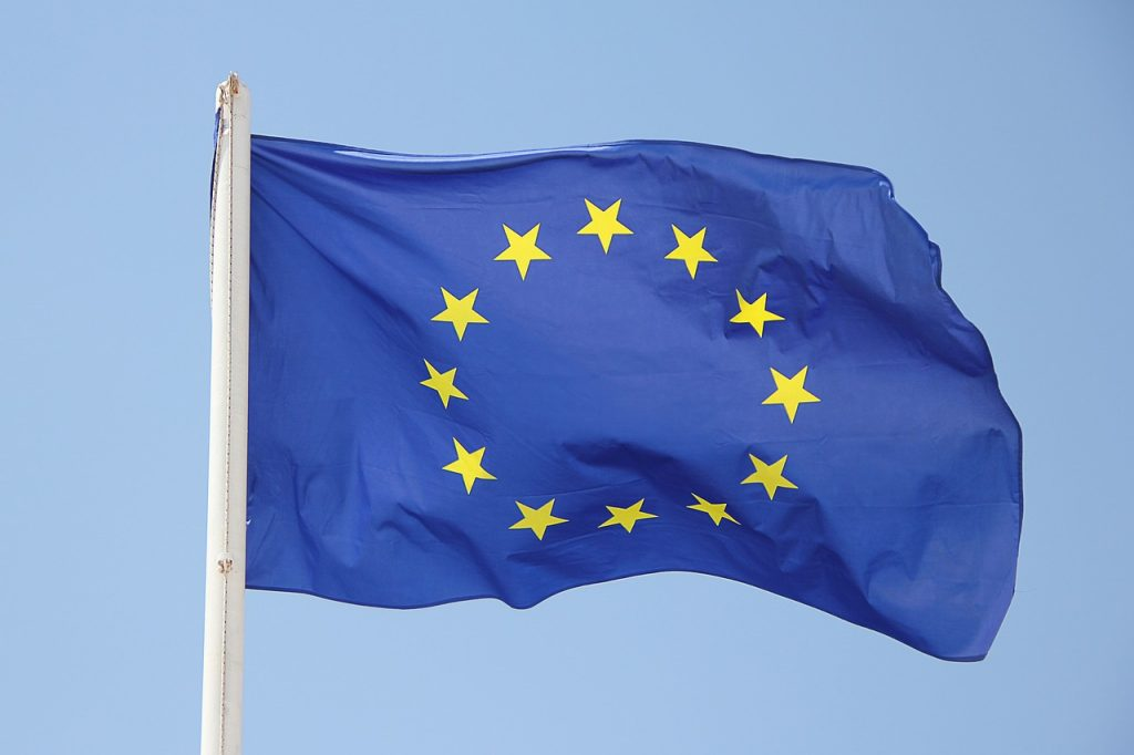 Image of E U flag
