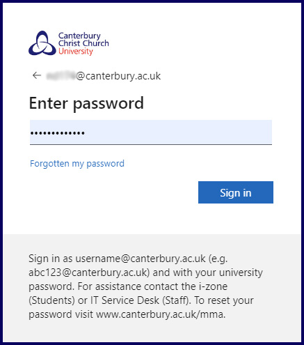 Enter your computer username and password at the login screen.