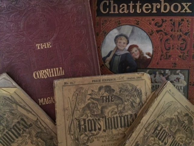 A selection of print periodicals from the nineteenth century