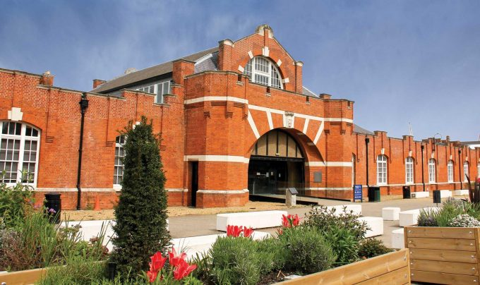What is new at the Drill Hall Library?