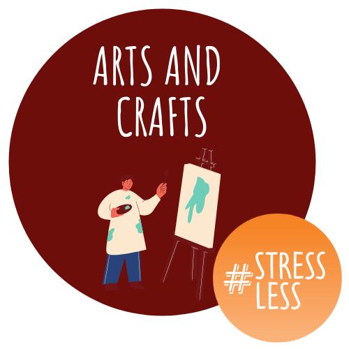 Art and Crafts circular stressless logo