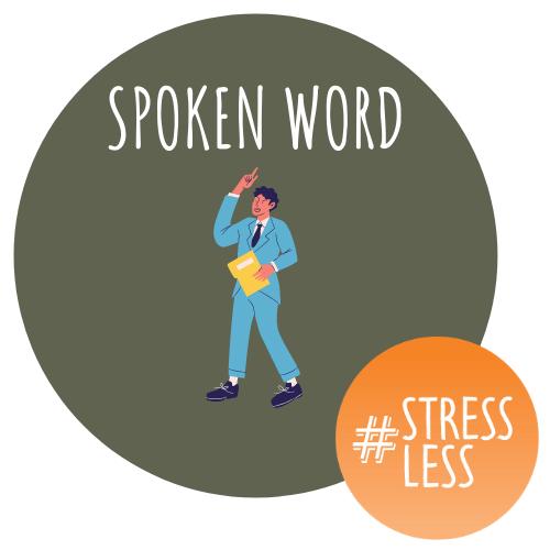 stressless spoken word logo