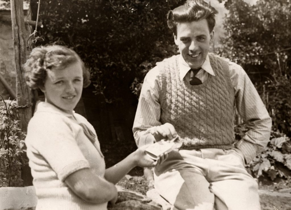 Image of Mark Weston and his wife Alberta