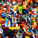 a huge pile of lego representing overwhelming responsibilities