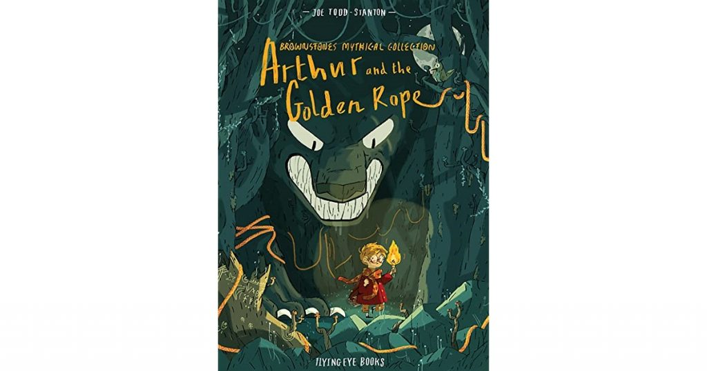 arthur and the golden rope book cover