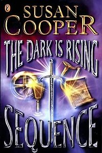 Book cover 'the dark is rising sequence' by susan cooper