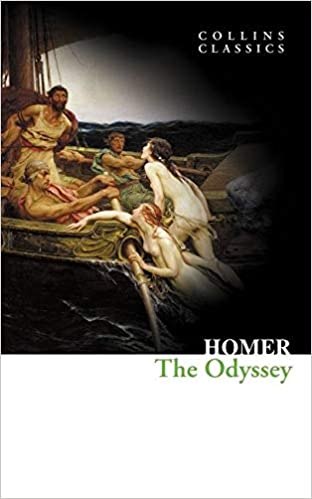 the odyssey by homer book cover