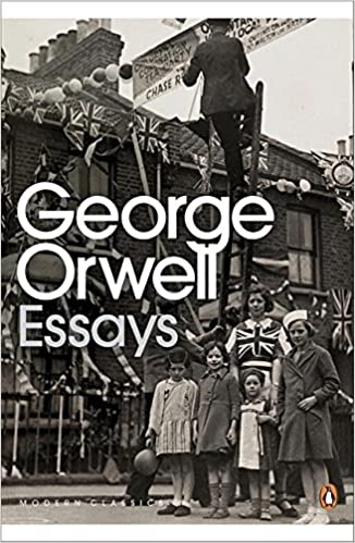 George Orwell Essays book cover