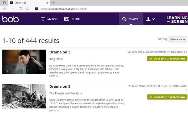 Box of Broadcasts (BoB) screenshot