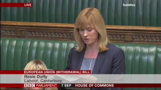 A Chaucerian Deal? Canterbury MP Rosie Duffield's Maiden Speech