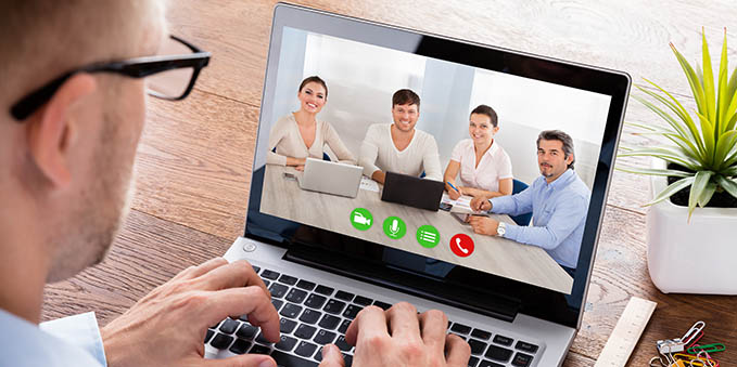 Online Seminars: Group discussions using Skype
