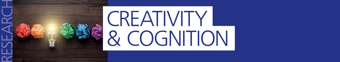 Read more about our Creativity and Cognition research