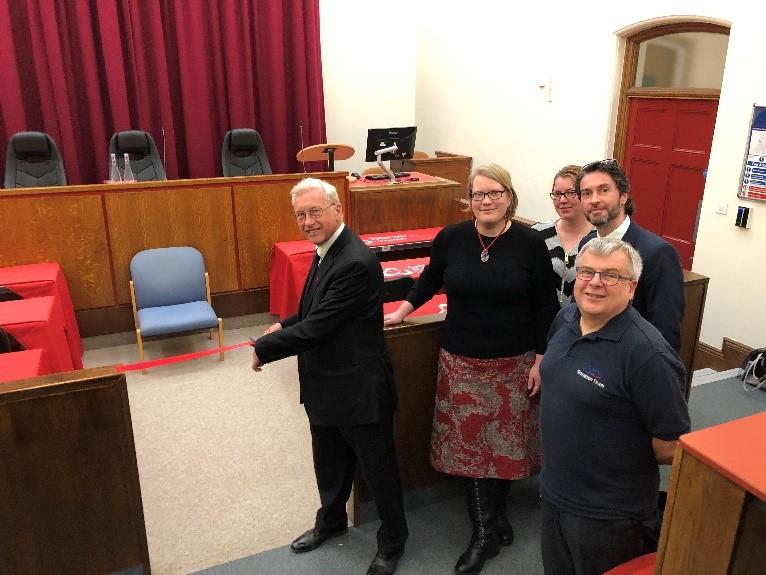 Judge Jackson, Katja Hallenberg, Belinda Siesmaa, Kos Siliafis and Andy Buttery.