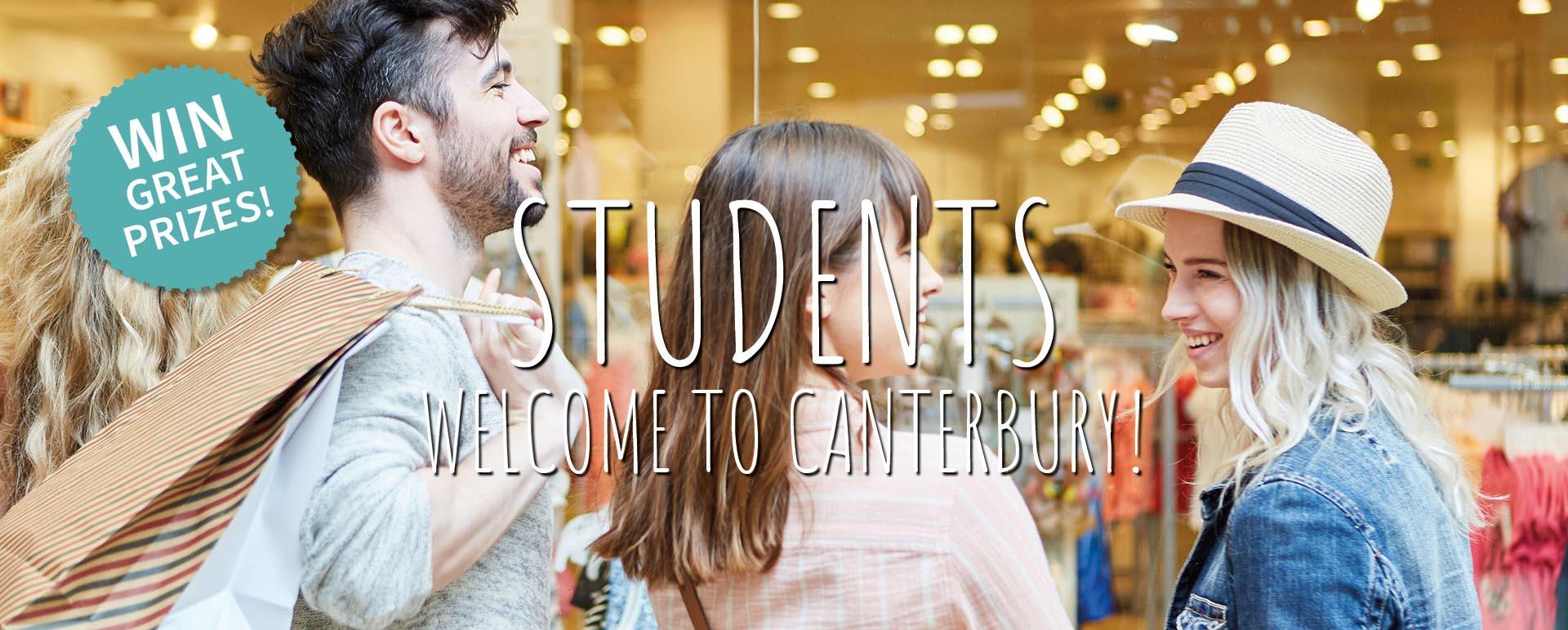 Canterbury's Student Shopping Week