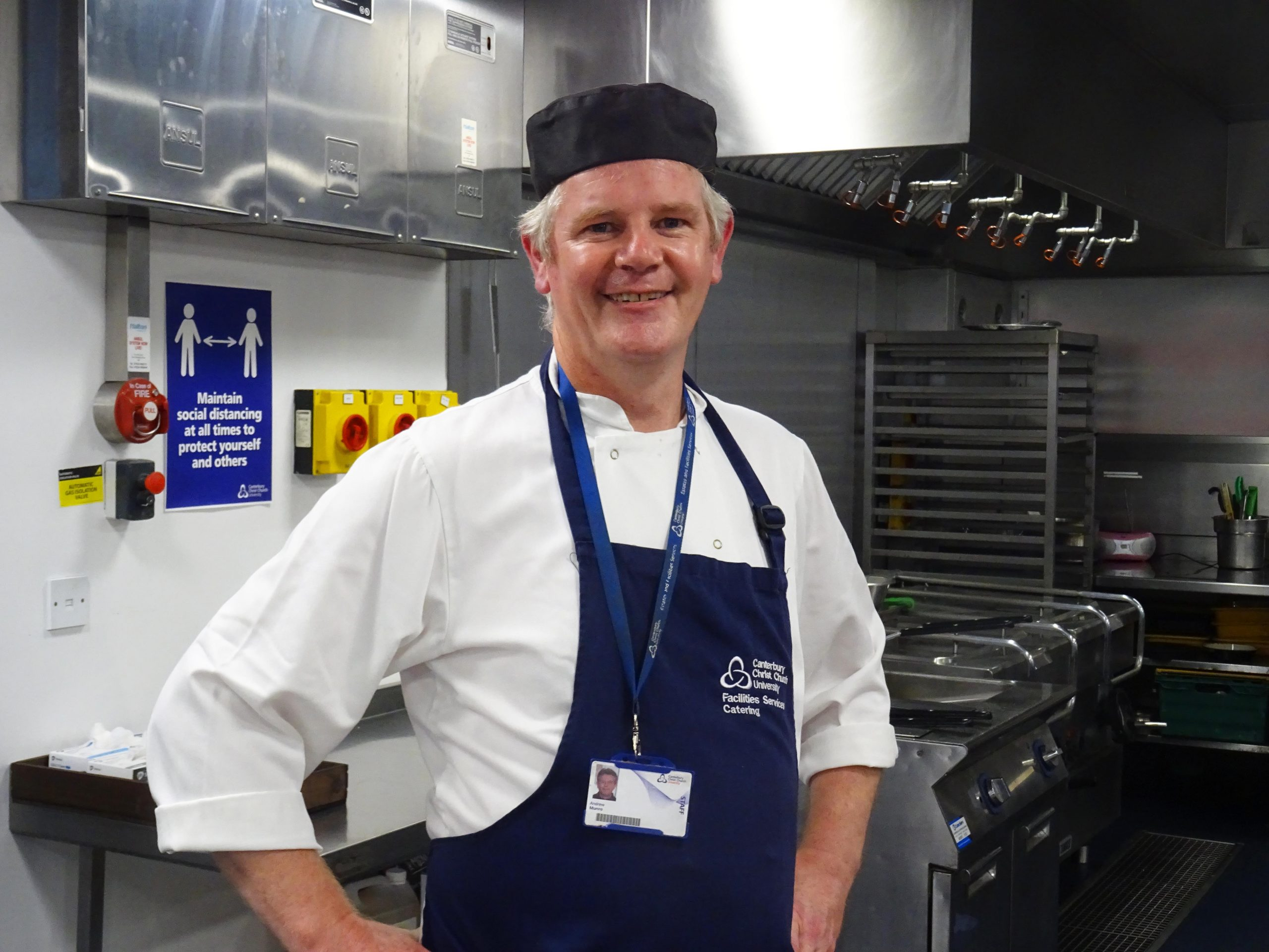 Learn to cook with Head Chef Stuart