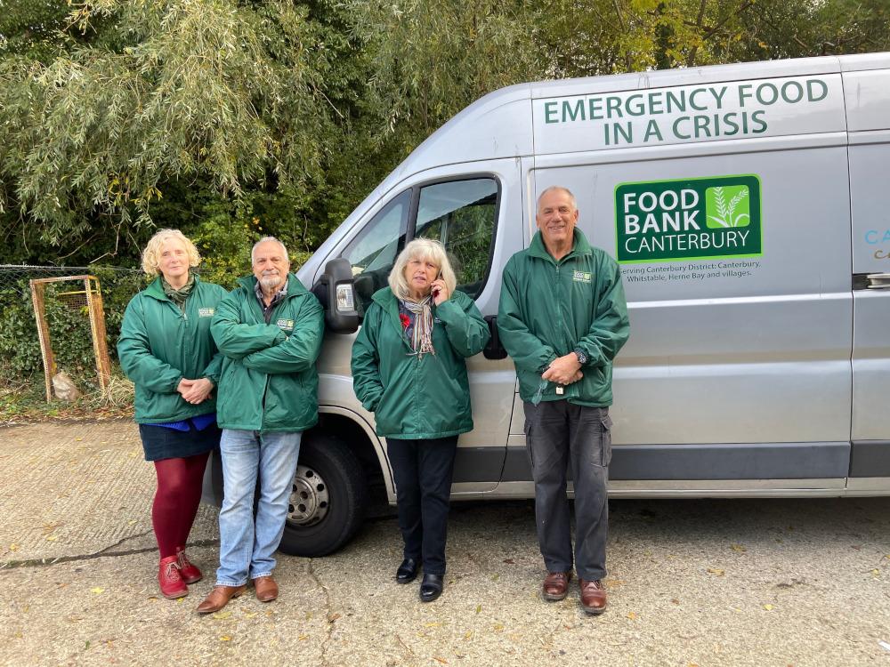 Christmas Donations for the Canterbury Foodbank