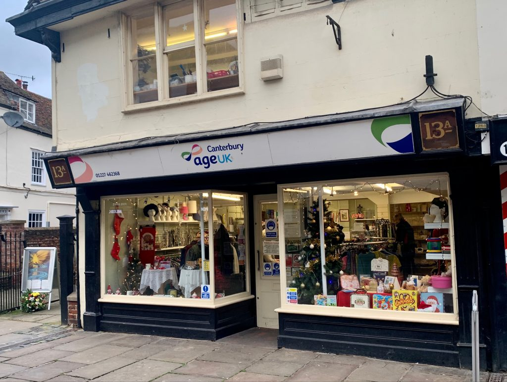 Charity shops in Canterbury