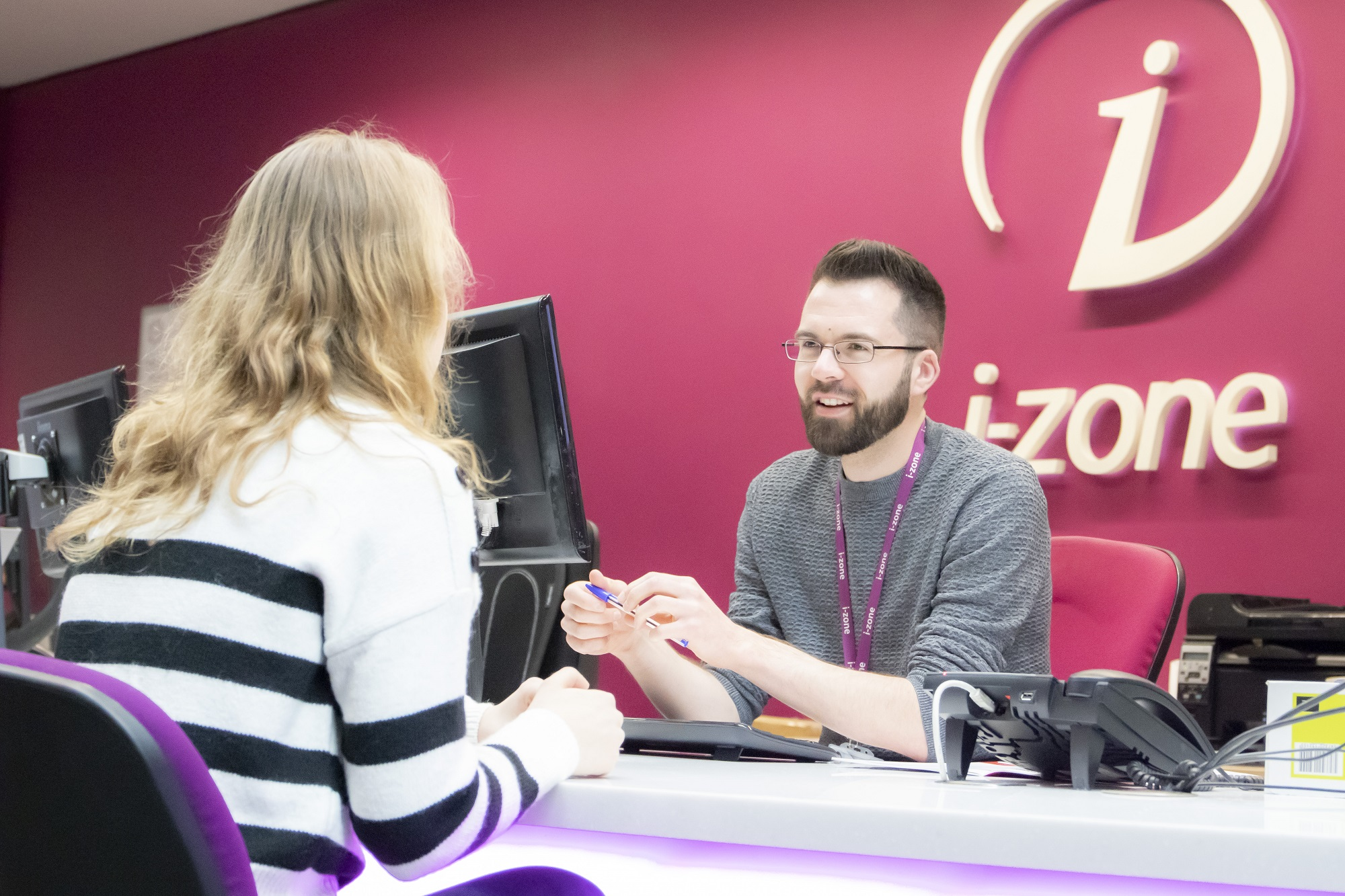 i-zone and IT Hub extended summer opening hours