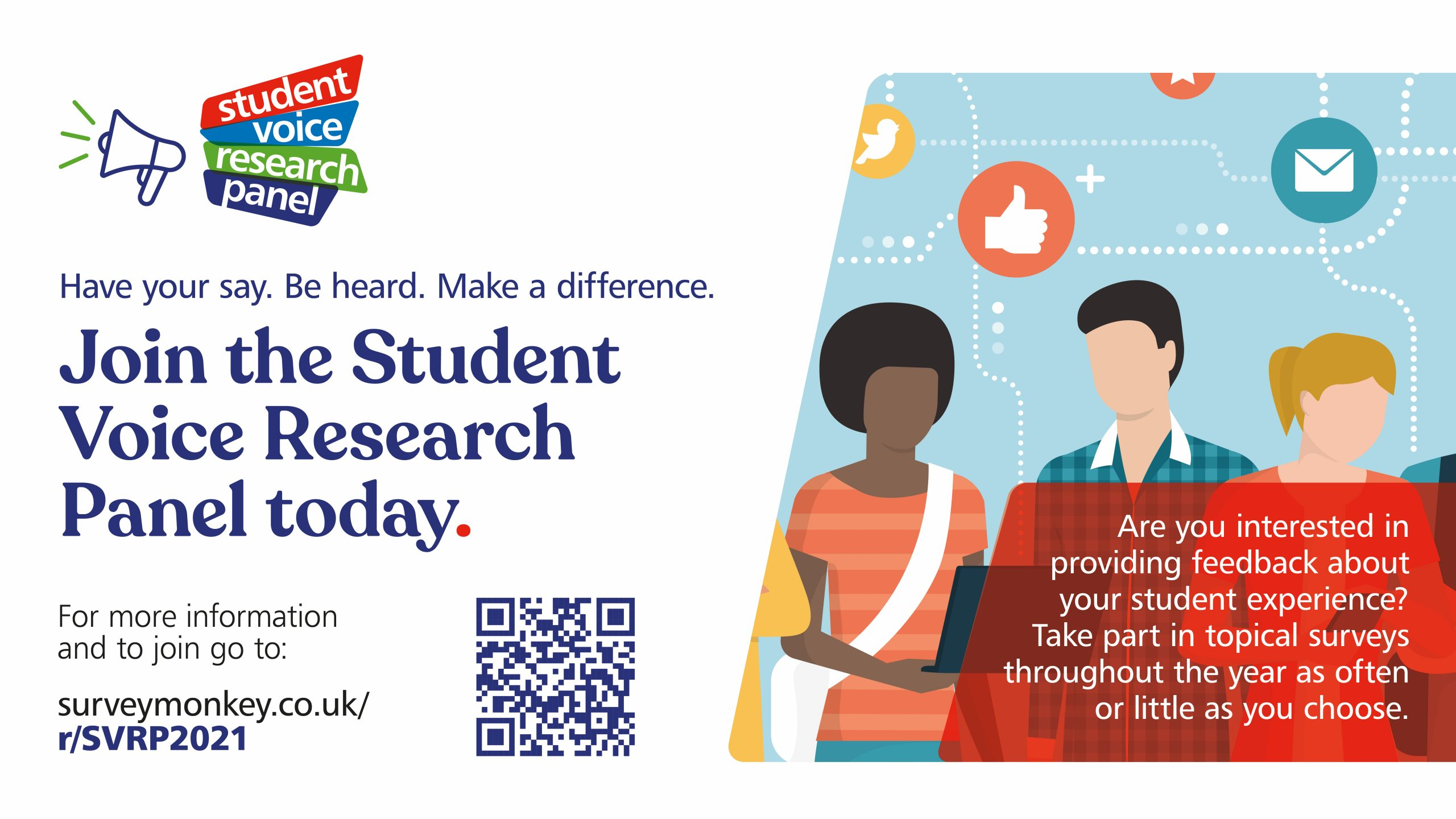 Join the first student voice research panel and make a difference