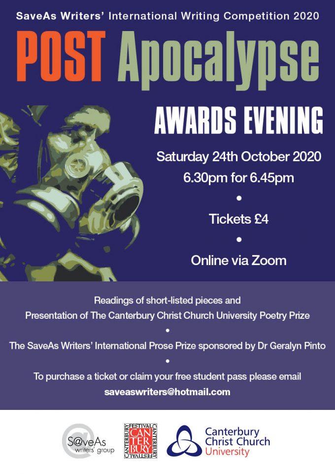 Post Apocalypse Award Evening Poster