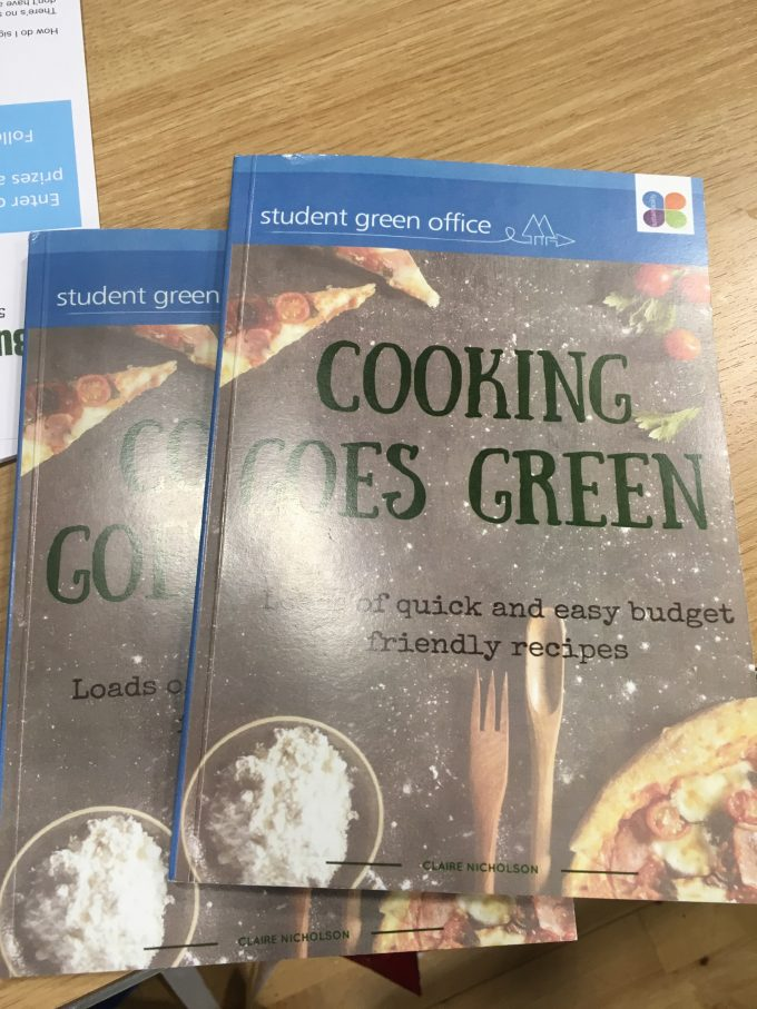 OUT NOW: Cooking Goes Green Cookbook