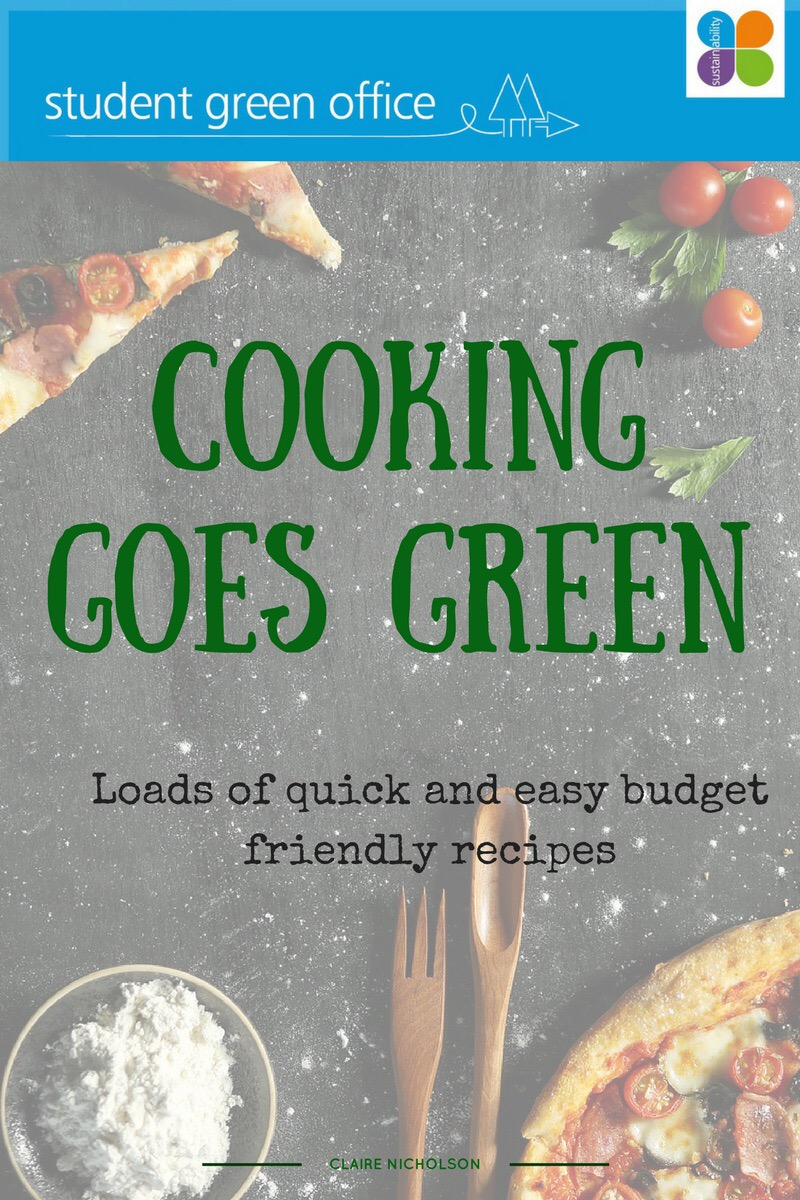Cooking Goes Green cookbook