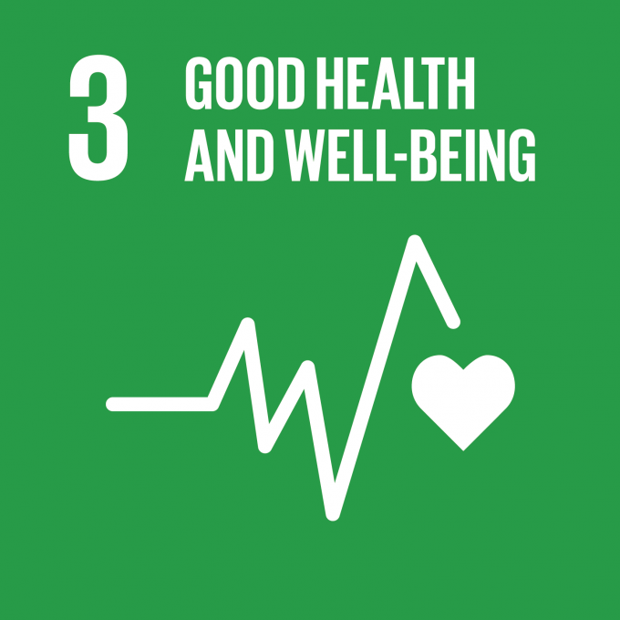 SDG 3:  Good Health and Wellbeing