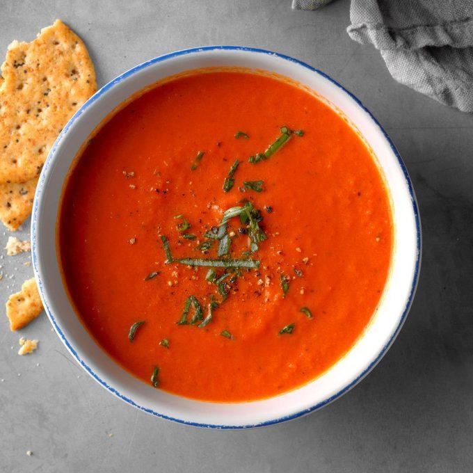 #LivingWell – Tomato Soup