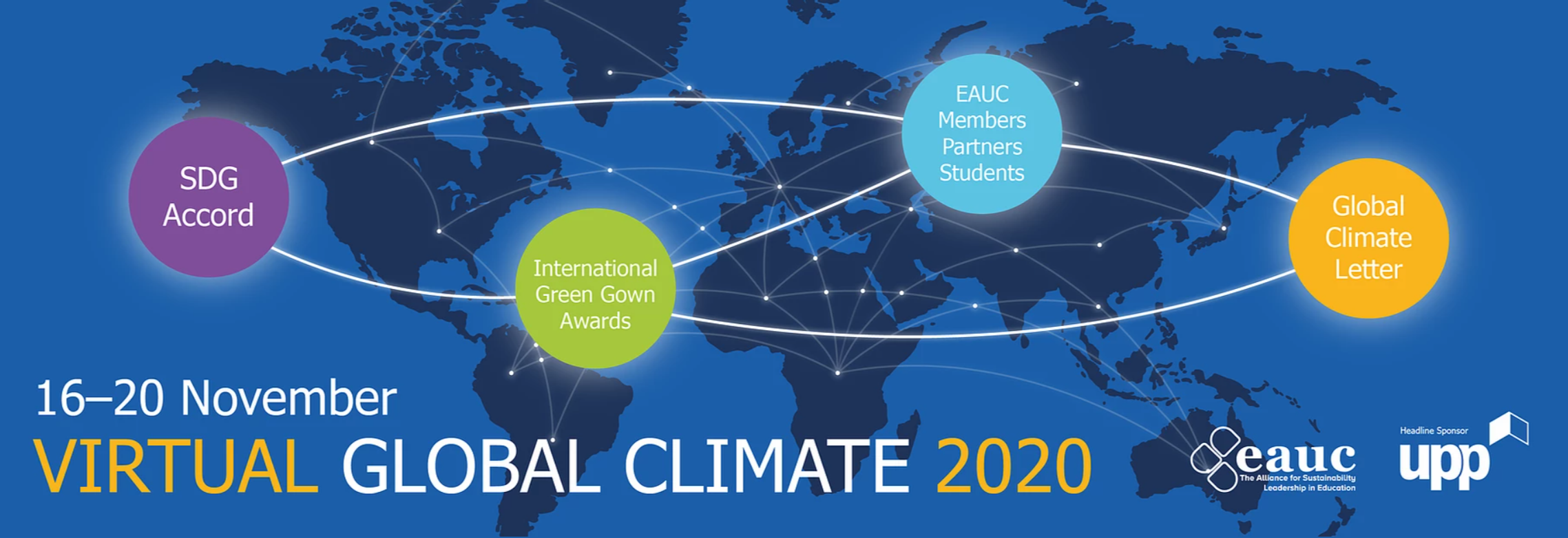 No Talk, Action Only: Lessons learnt from the 2020 EAUC Conference on how to fight climate change.